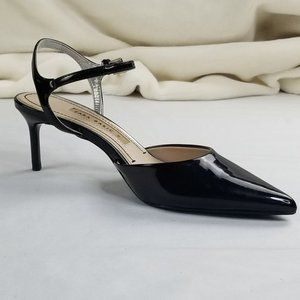Zara Basic Patent Leather Ankle Strap EUR 36 US 6